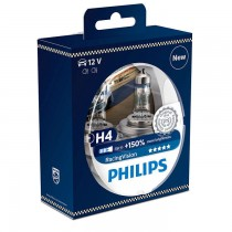 Philips Racing Vision H4 +150% 12V 55W